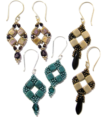 Coin Earrings at Deb Roberti's AroundTheBeadingTable.com