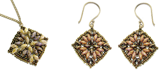 Maya Earrings & Pendant