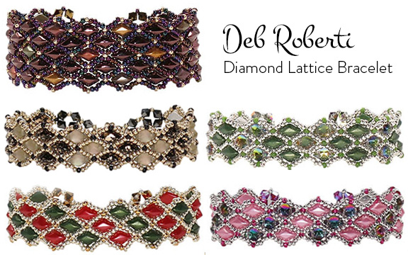 Diamond Lattice at AroundTheBeadingTable.com