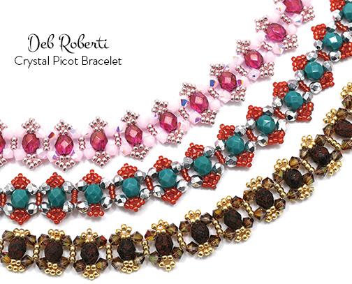 Crystal Picot Bracelet