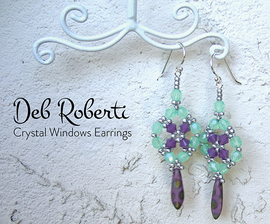 Crystal Windows Earrings