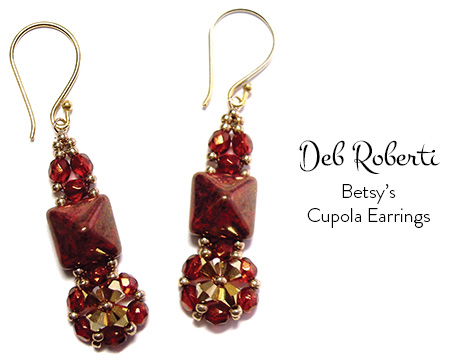 Betsy's Cupola Earrings